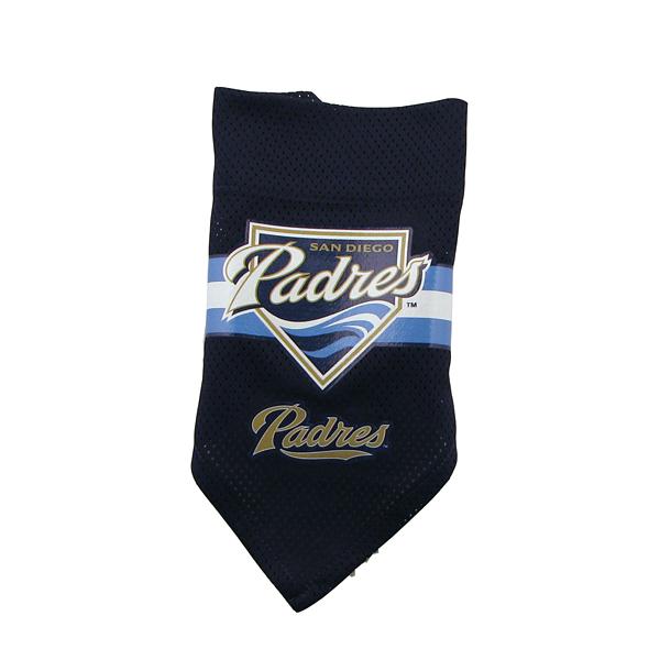San Diego Chargers Dog Collar: San Diego Padres Mesh Dog Bandana