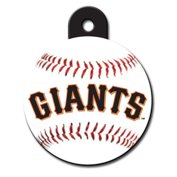 San Francisco Giants Engravable Pet I.D. Tag