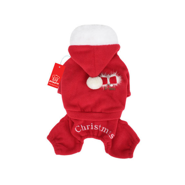 Santa's Dog Jumpsuit by Puppia
