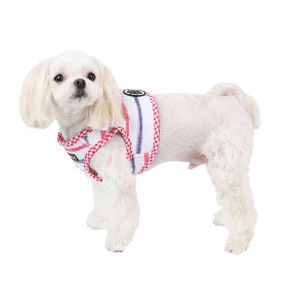 Sappy Dog Harness by Puppia - Red