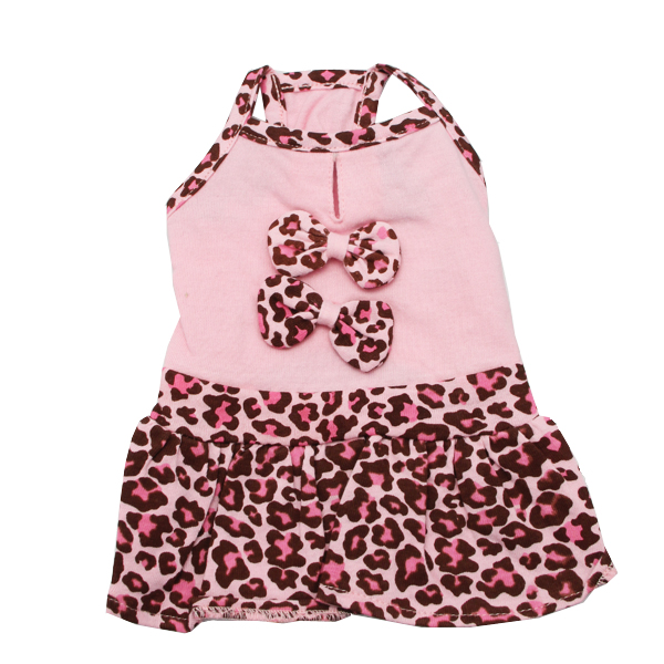 Sassy Leopard Dog Dress by Dogo