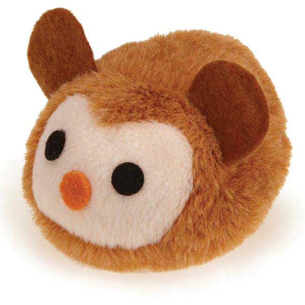 Savvy Tabby Pounce Party Animals Cat Toy - Brown Monkey
