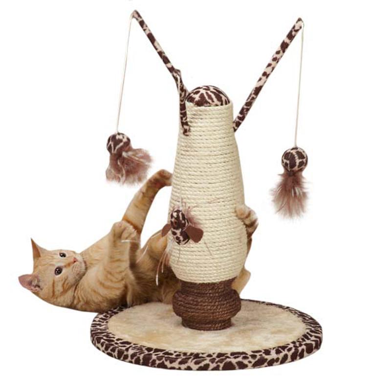 Savvy Tabby Wild Time Kitty Playland - Brown