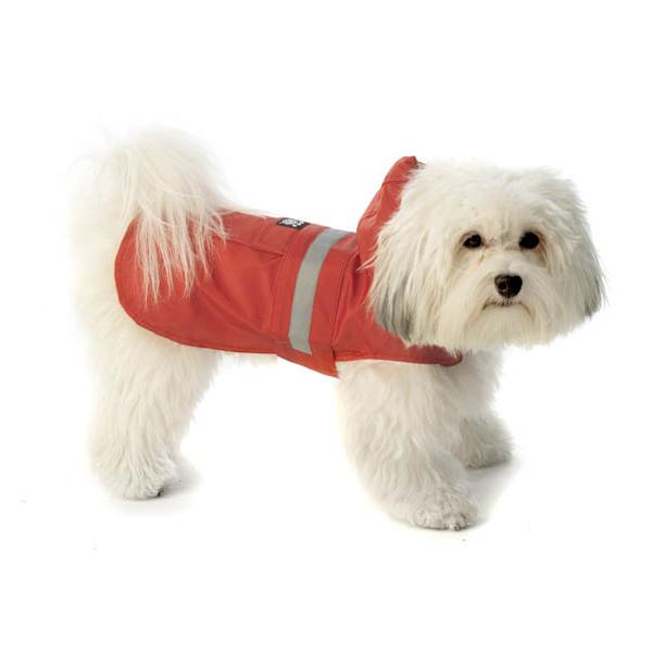 Seattle Dog Rain Slicker - Red