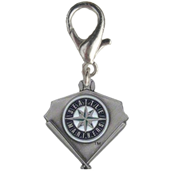 Seattle Mariners Pennant Dog Collar Charm