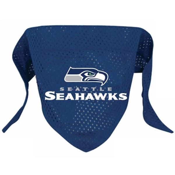 Seattle Seahawks Mesh Dog Bandana Baxterboo