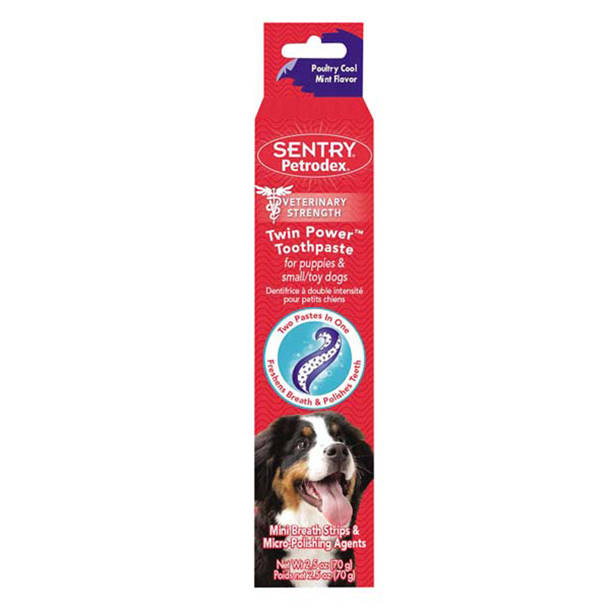 Sentry Petrodex Twin-Power Dog Toothpaste