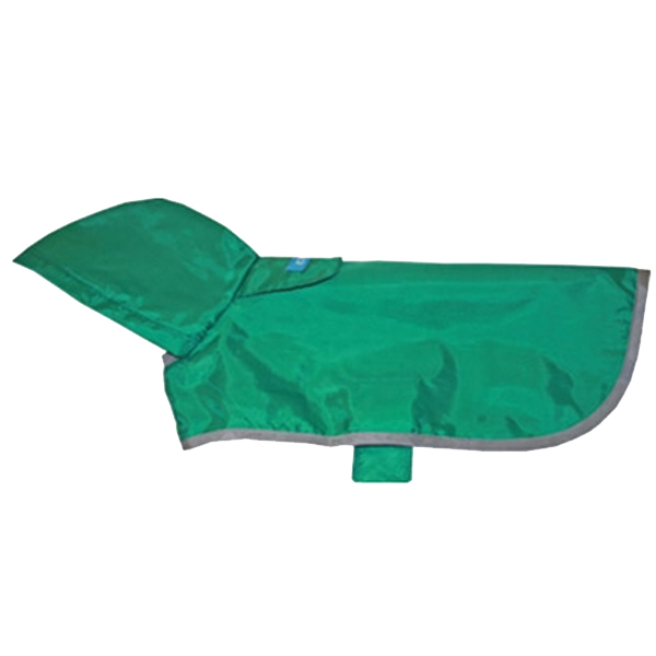 Shamrock Packable Dog Rain Poncho