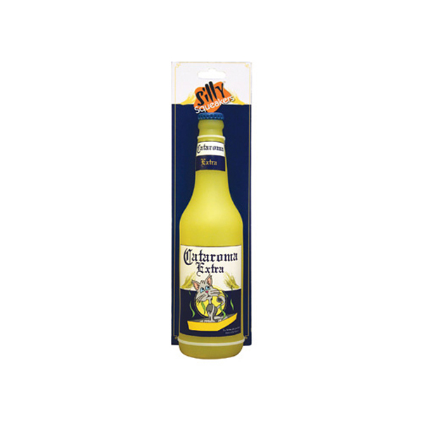 Silly Squeakers Dog Toys - Cataroma Extra Beer Bottle