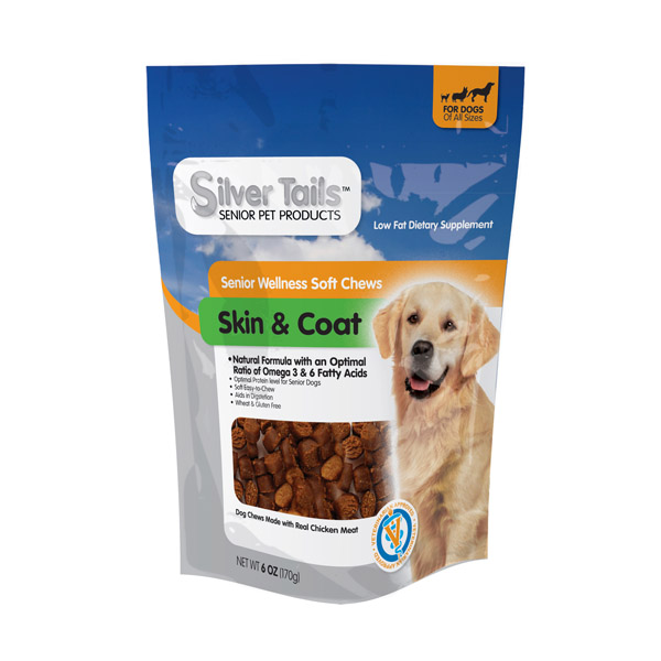Silver Tails Skin & Coat Wellness Treats