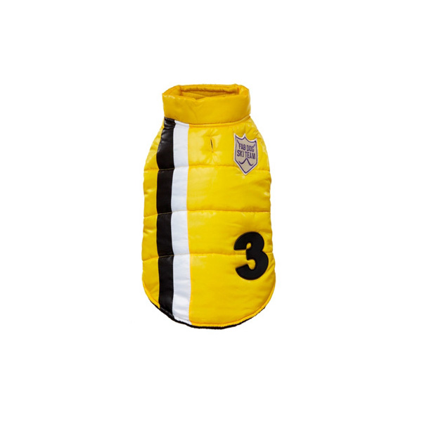 Ski Team Dog Jacket - Yellow