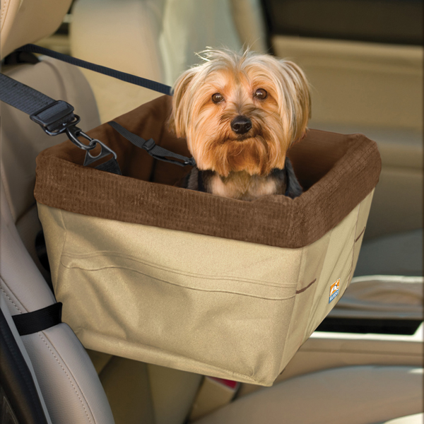 Skybox Pet Booster Seat by Kurgo - Khaki