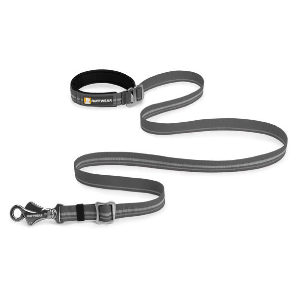 Slackline Adjustable Dog Leash by RuffWear - Granite Gray