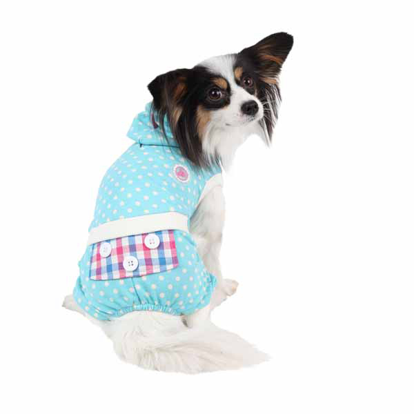 Sleepover Dog Pajamas by Pinkaholic - Aqua