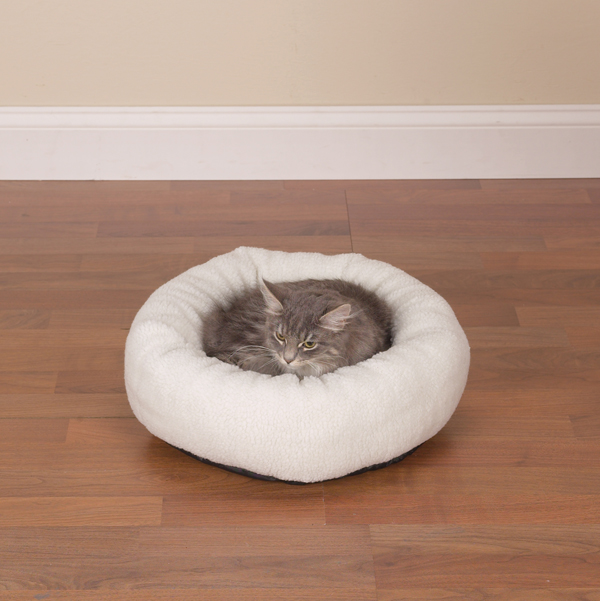 Slumber Pet Cozy Kitty Bed - Berber