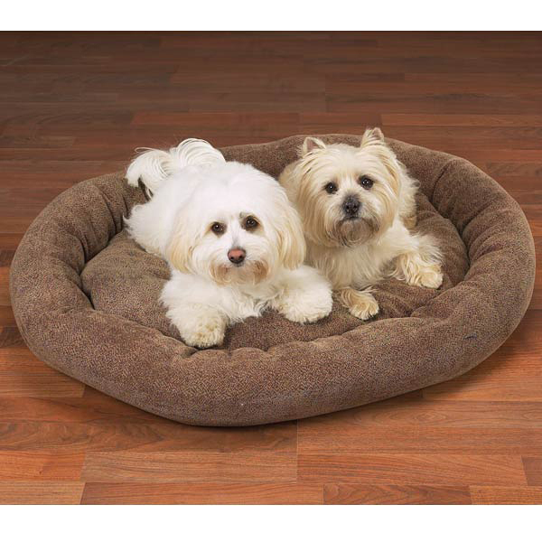 Slumber Pet Deluxe Chenille Beds - Chocolate