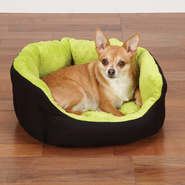 Slumber Pet Dimple Plush Nesting Bed - Green