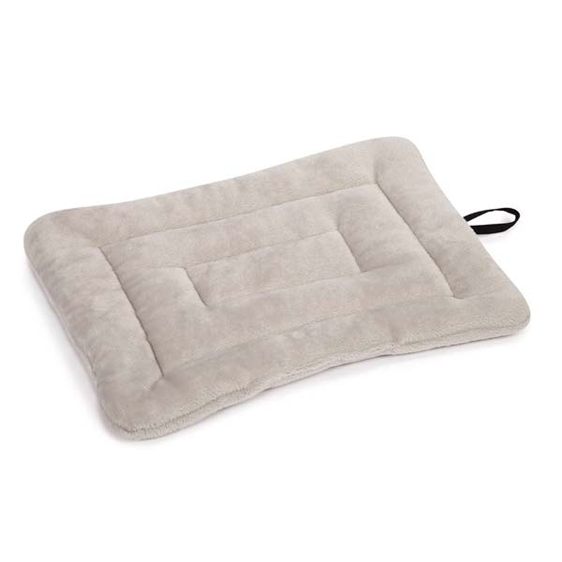 Slumber Pet Glacier Plush Pet Mat - Ash