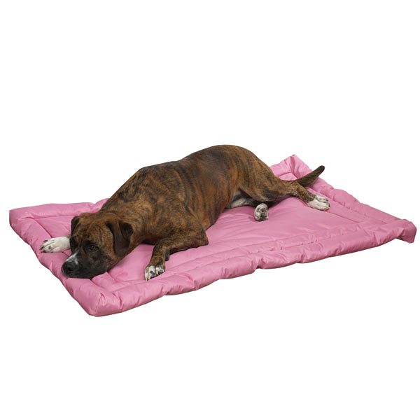 Slumber Pet Water-Resistant Dog Bed - Pink