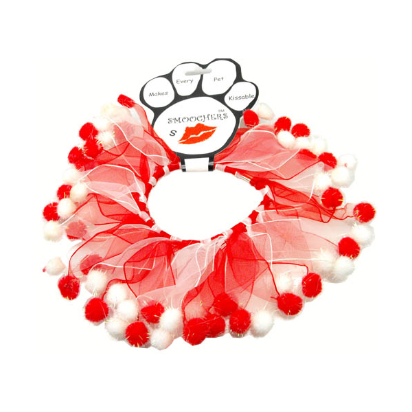 Smoochers Pet Scrunchie - Candy Cane Fuzzy Wuzzy