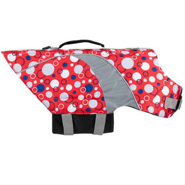 Soda Pop Canine Life Jacket - Red