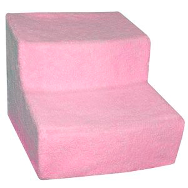Soft Step Pet Stairs - Pink