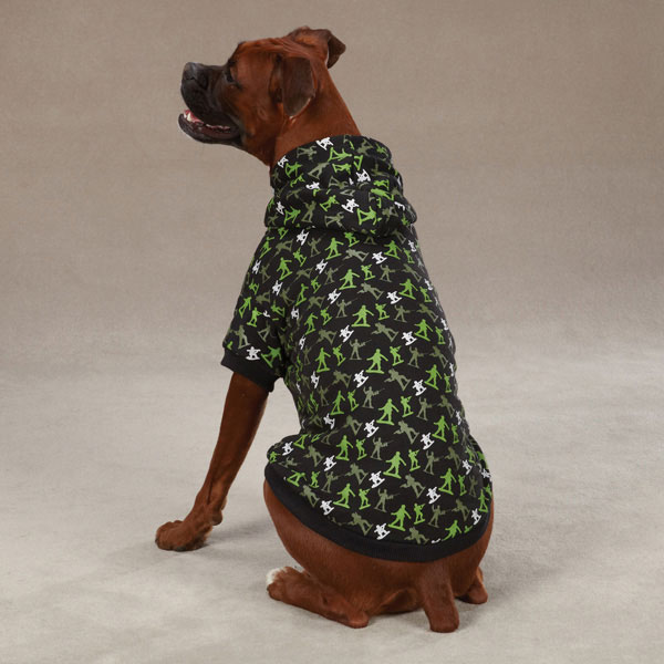 Special Ops Dog Hoodie by Zack & Zoey - Black