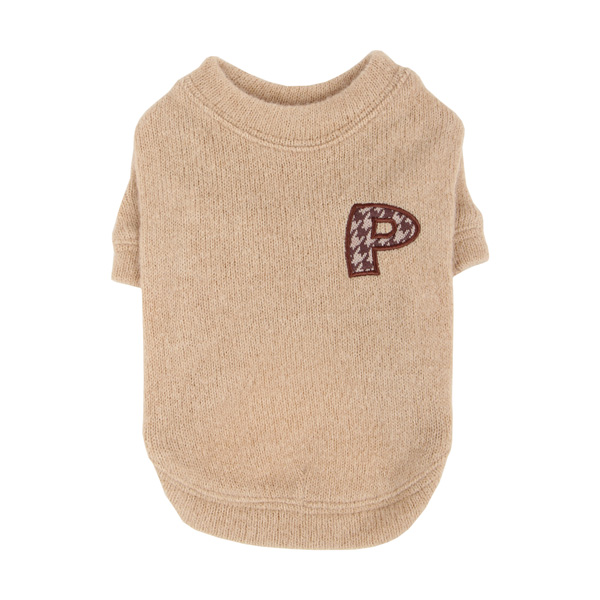 Spice Dog Sweater by Puppia - Beige