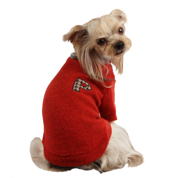 Spice Dog Sweater by Puppia - Red