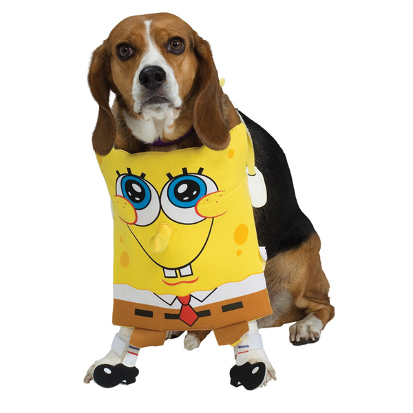 SpongeBob SquarePants Dog Halloween Costume