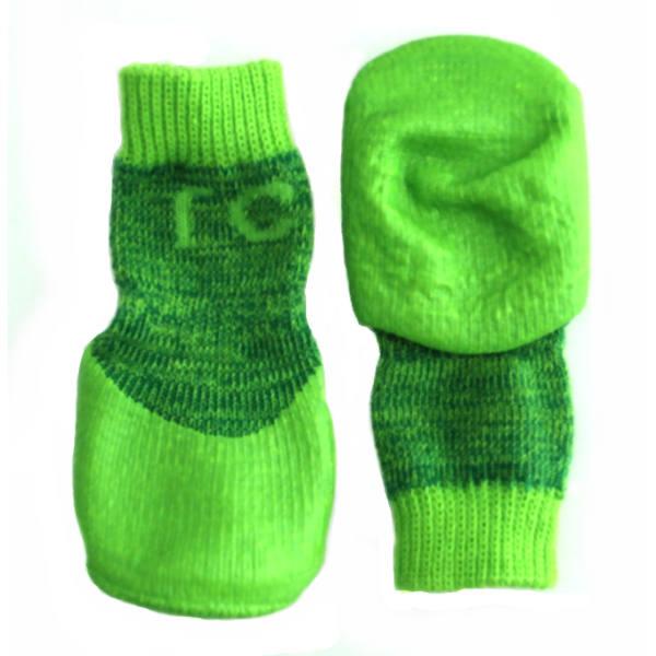Sport PAWks Dog Socks - Lime Heather