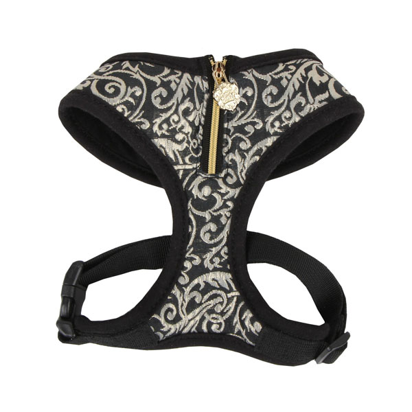 Spring Gala Dog Harness by Puppia - Black