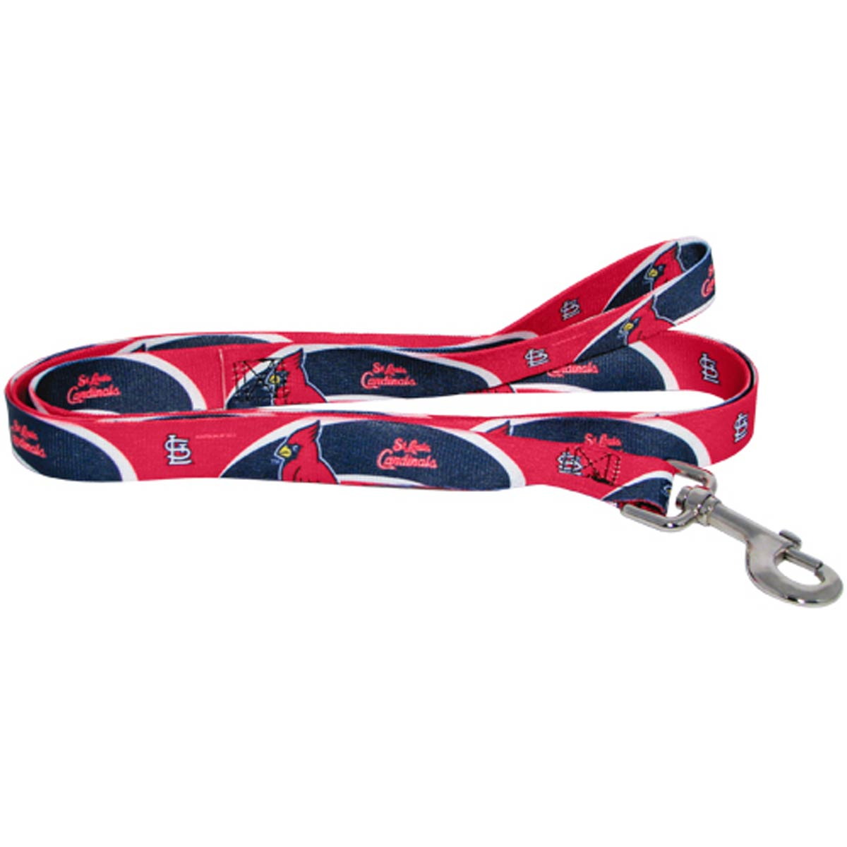 St. Louis Cardinals Baseball Printed Dog Leash