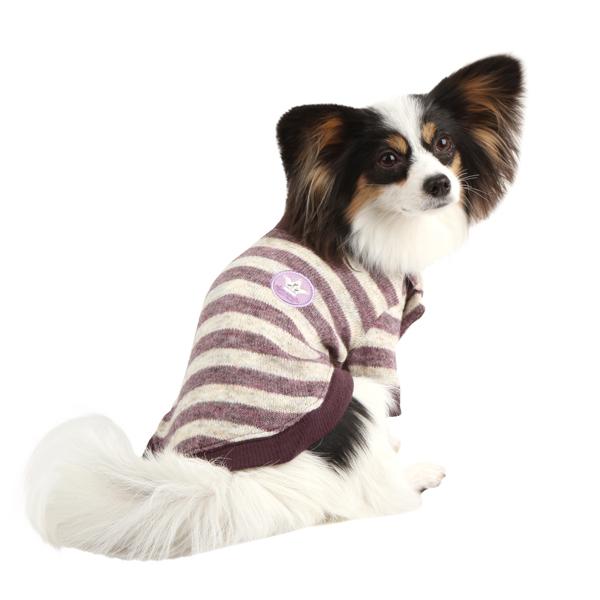 Stanza Dog Sweater by Pinkaholic - Purple