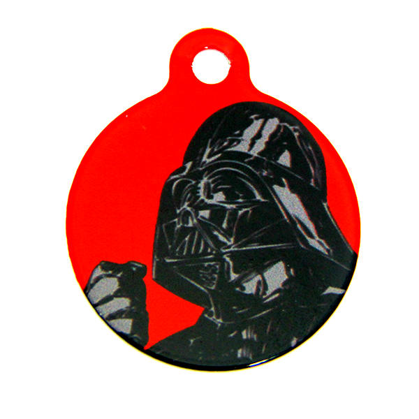 Star Wars QR Code Pet ID Tag - Darth Vader