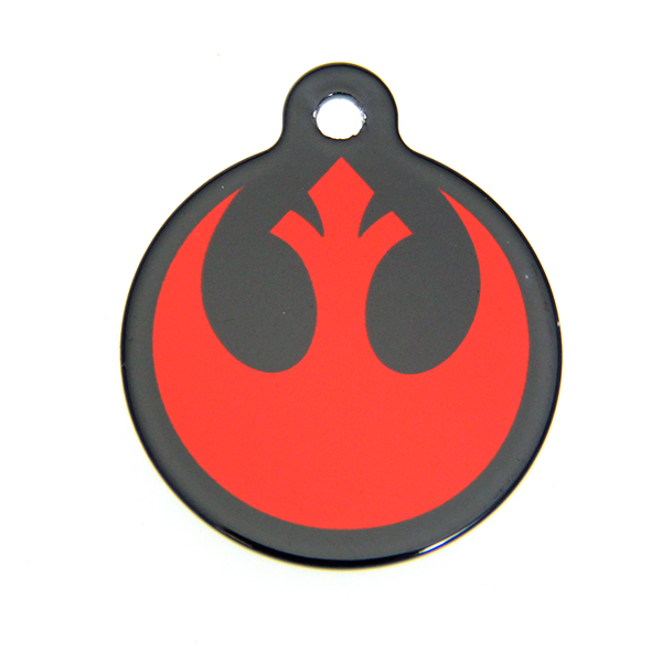 Star Wars QR Code Pet ID Tag - Rebel Logo