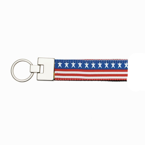 Stars and Stripes Key Ring from Up Country
