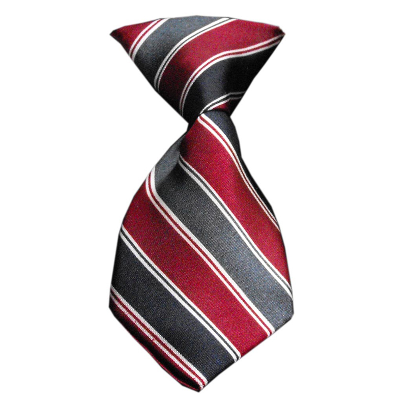 Striped Dog Neck Tie - Classic