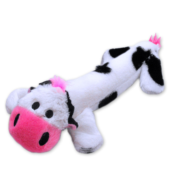 Stuffy Plushy Dog Toy - Cow