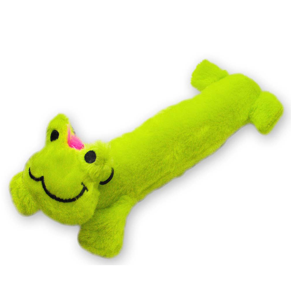 Stuffy Plushy Dog Toy - Frog