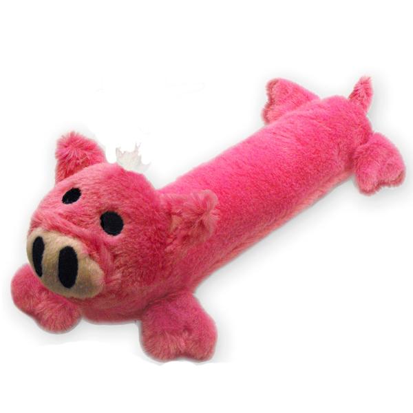 Stuffy Plushy Dog Toy - Pig