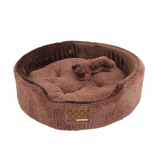 Suave Dog Bed by Puppia - Brown