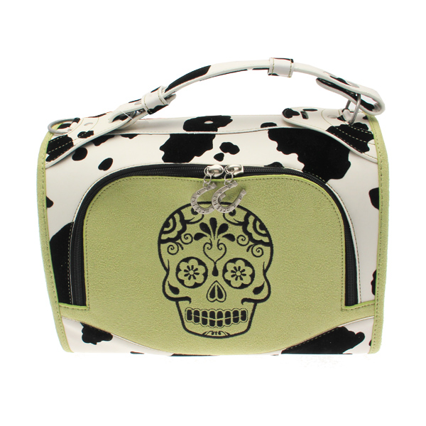Sugar Skull Pet Carrier