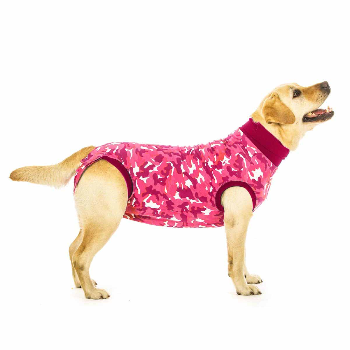Suitical Dog Recovery Suit - Pink Camo