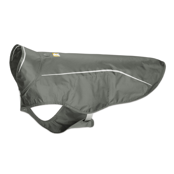 Sun Shower Dog Rain Jacket by RuffWear - Granite Gray