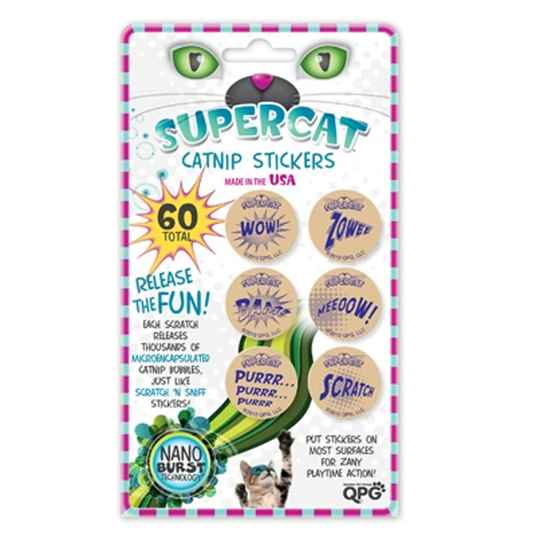 SuperCat Catnip Stickers
