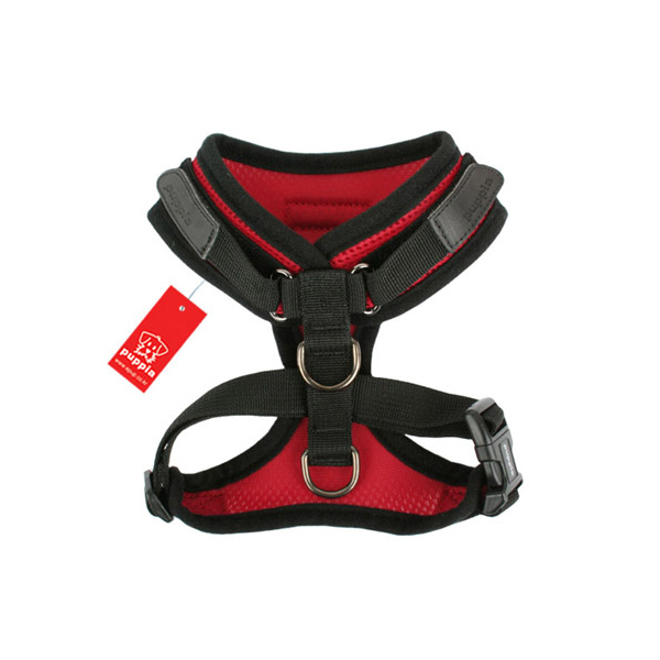 Superior Soft Harness by Puppia - Red