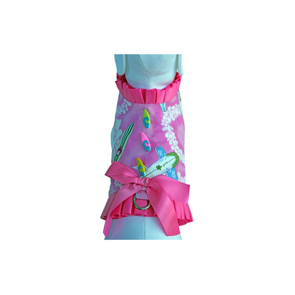 Surfer Girl Dog Harness Vest w/ Leash