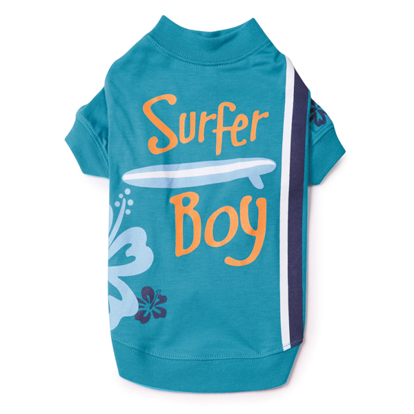 Surf's Up Dog T-Shirt - Surfer Boy