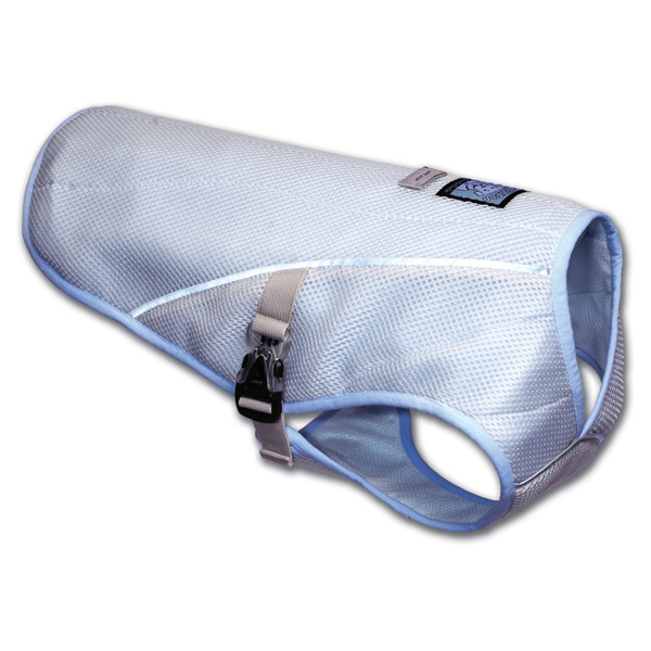 Swamp Cooler Dog Cooling Vest by RuffWear - Ice Blue